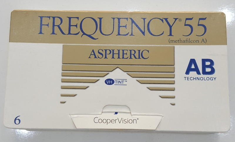 Lentilles de contact Correctrices Frequency 55 de Coopervision
