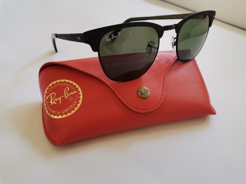 Lunettes de soleil Ray-ban - Clubmaster rb3716 186/58 51-21